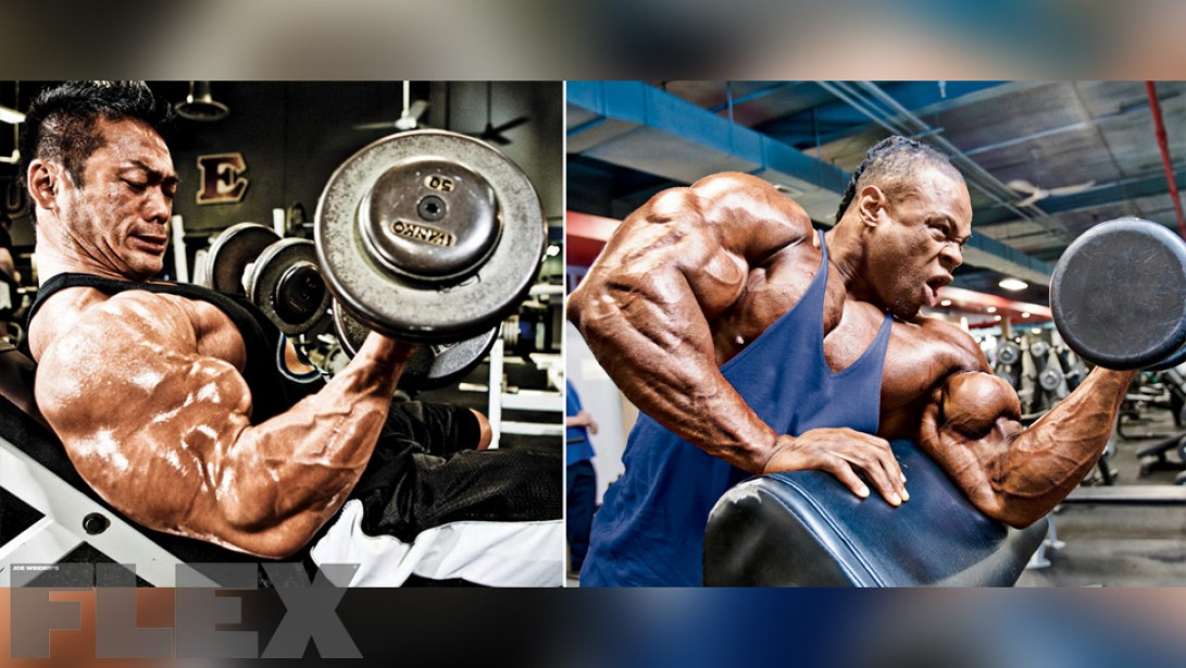 Incline Dumbbell vs. Preacher Curls