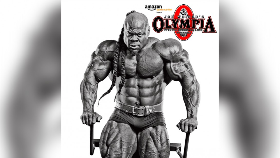 Kai Greene in the 2017 Olympia?