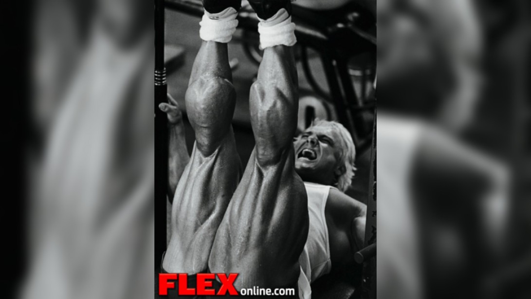 Hardcore Routines: Tom Platz, Legs