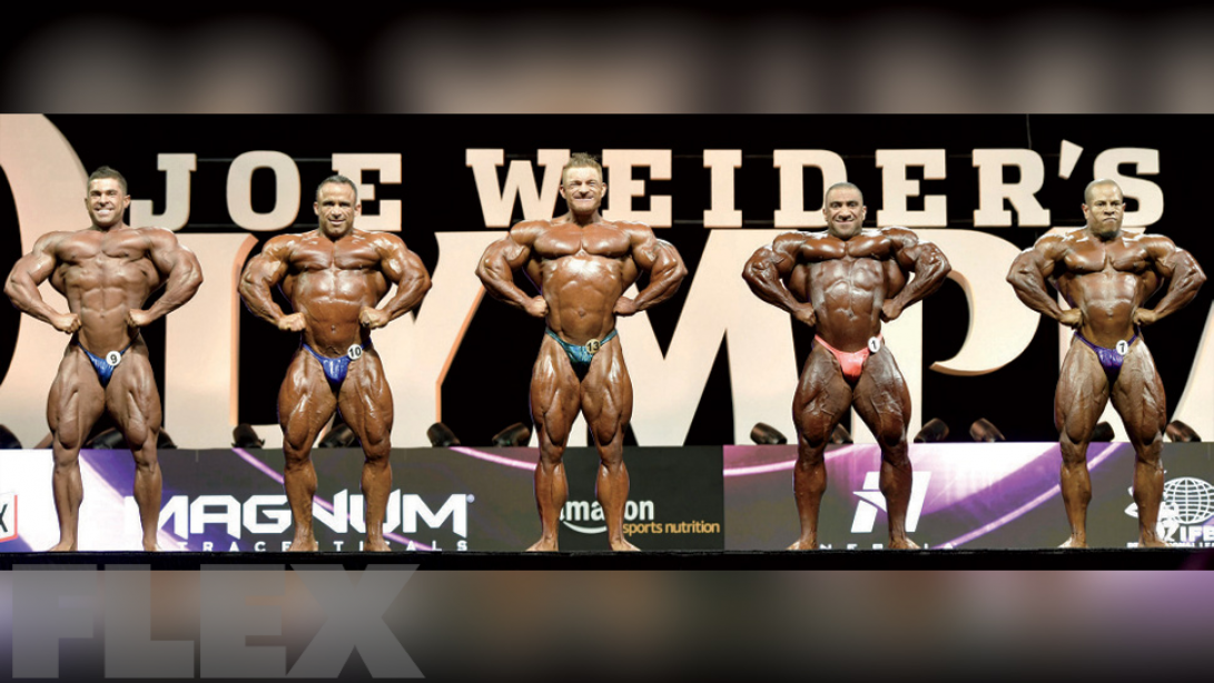Flex Lewis' Opinion on the Olympia Top 5