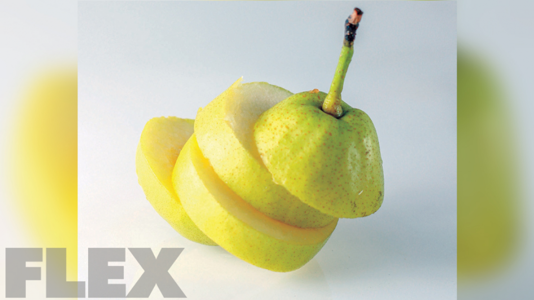 Put Pears On Your Training Plate
