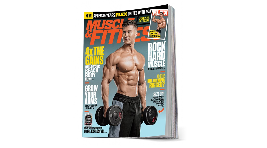 Powerhouse Fitness Magazines 'Muscle & Fitness' and 'FLEX' Are Merging