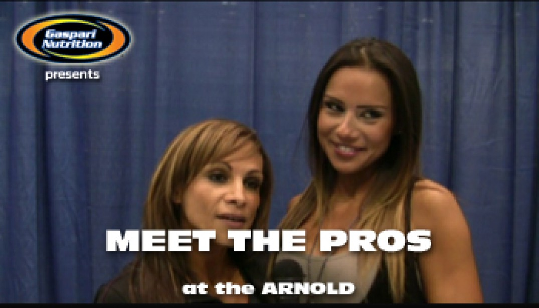 VIDEO: MEET THE PROS at the ARNOLD