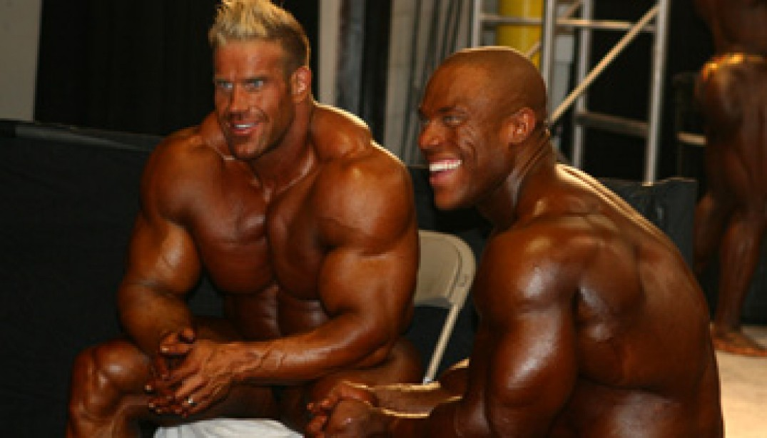 2009 MR. OLYMPIA BACKSTAGE GALLERIES