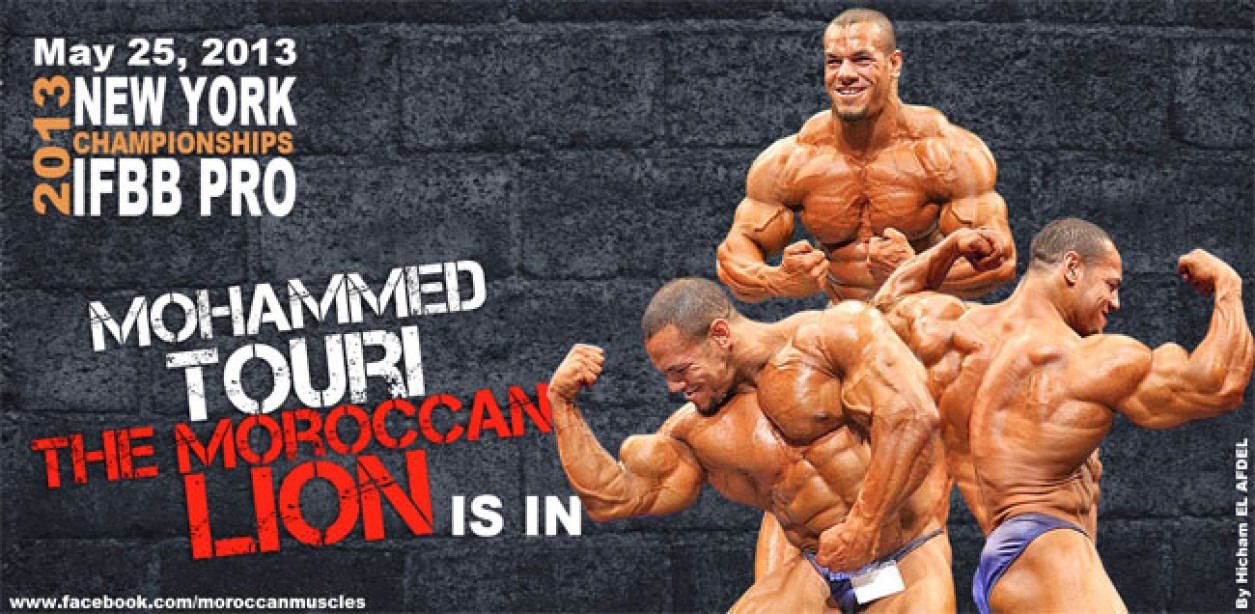 Mohammed Touri is in for 2013 New York Pro