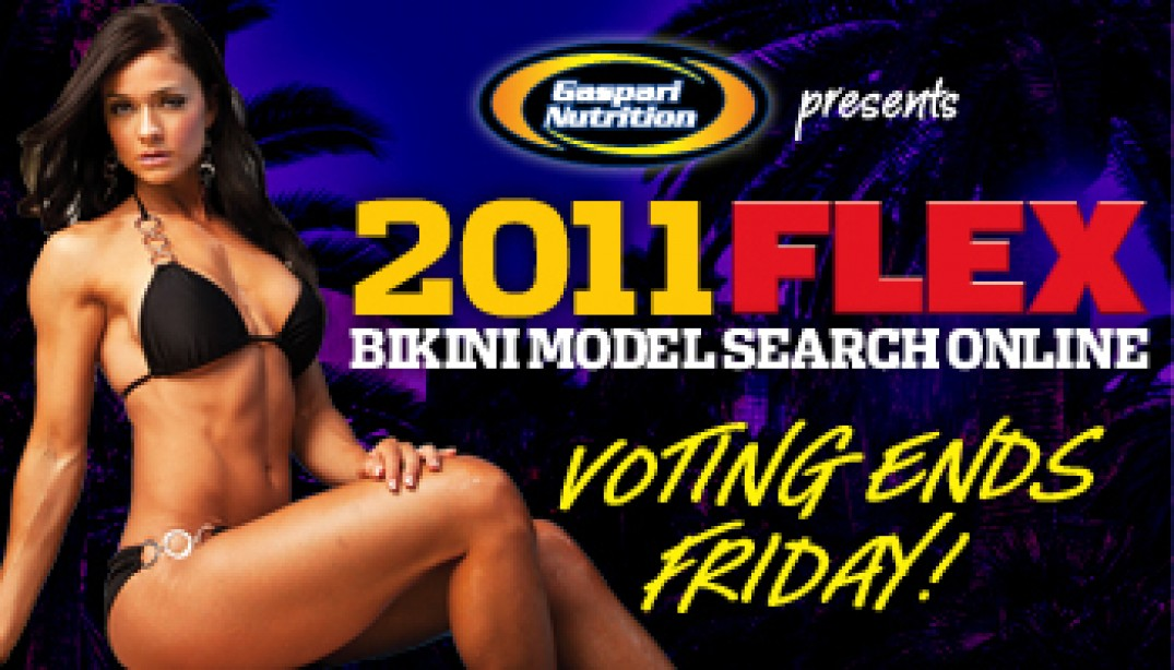 VOTING ENDS FRIDAY!