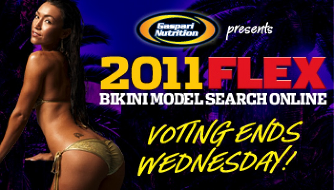 HURRY! TWO DAYS LEFT TO VOTE!