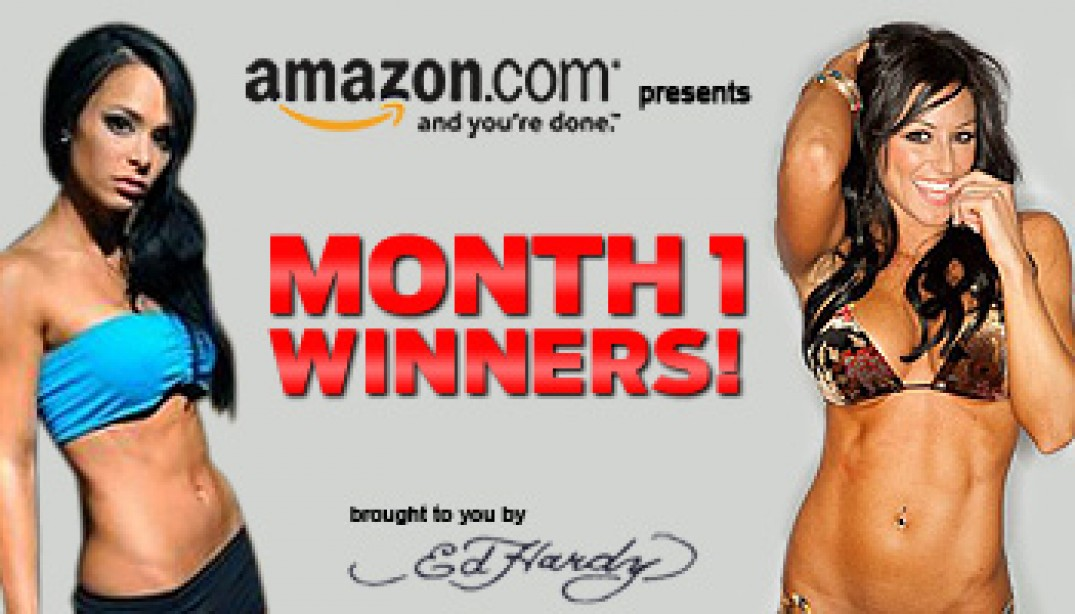 MONTH ONE WINNERS!