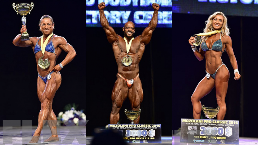 2016 IFBB Mozolani Pro Official Scorecards