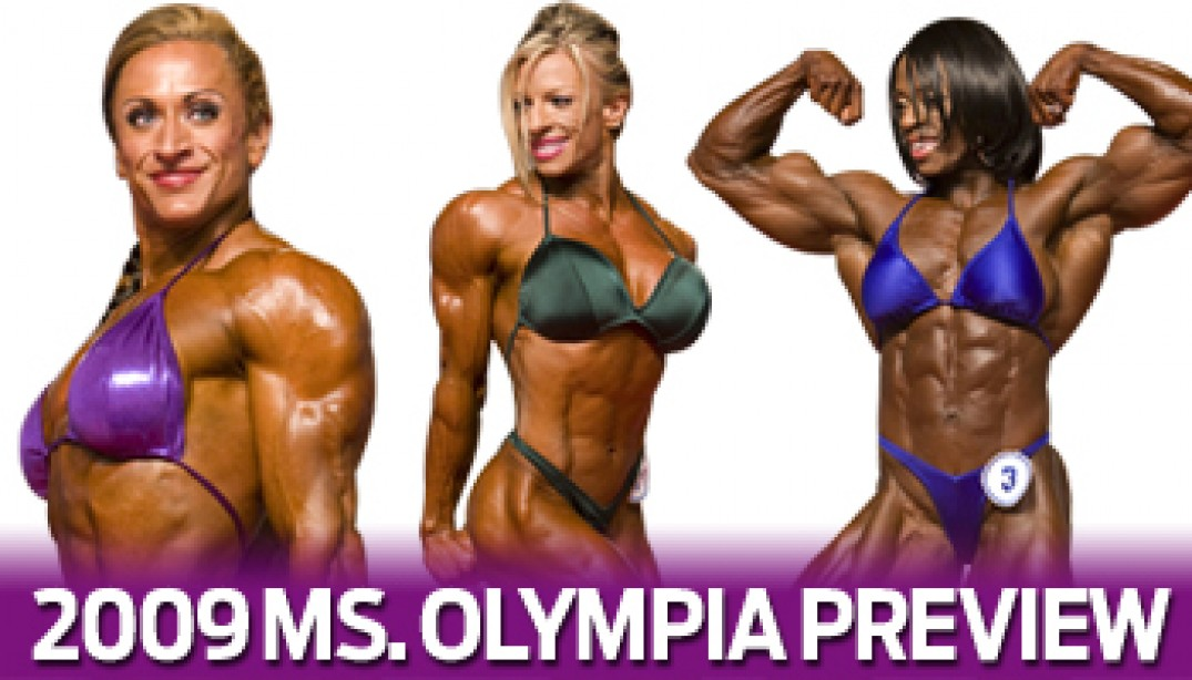2009 MS OLYMPIA PREVIEW