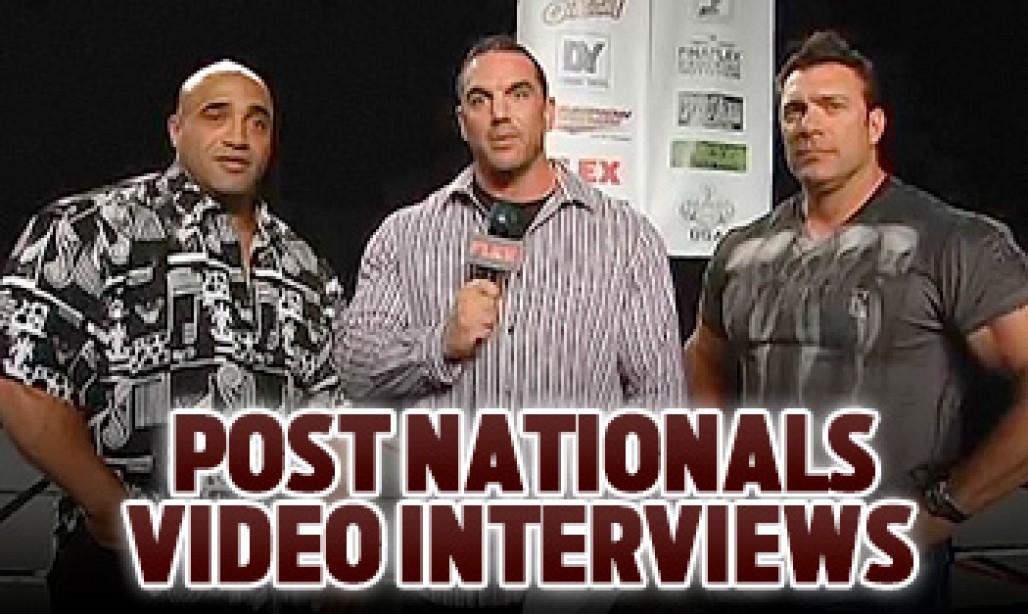 VIDEO: POST NATIONALS INTERVIEWS