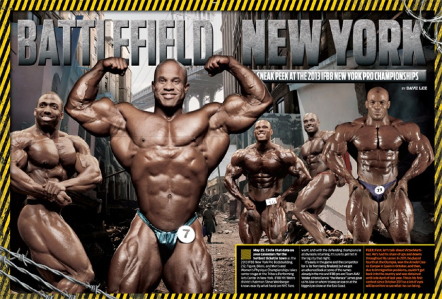 A Sneak Peek at the 2013 IFBB New York Pro Championships