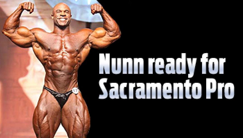 NUNN READY FOR SACRAMENTO PRO