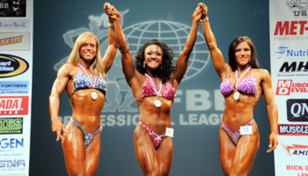 2010 NEW YORK PRO FITNESS CHAMPIONSHIPS RESULTS