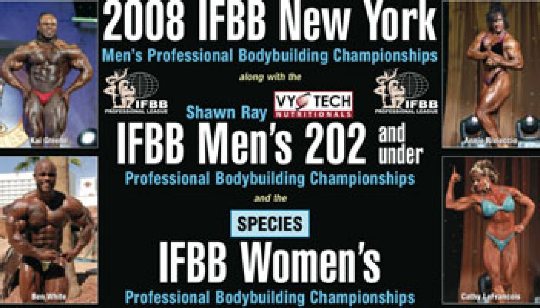 NY PRO COMING UP