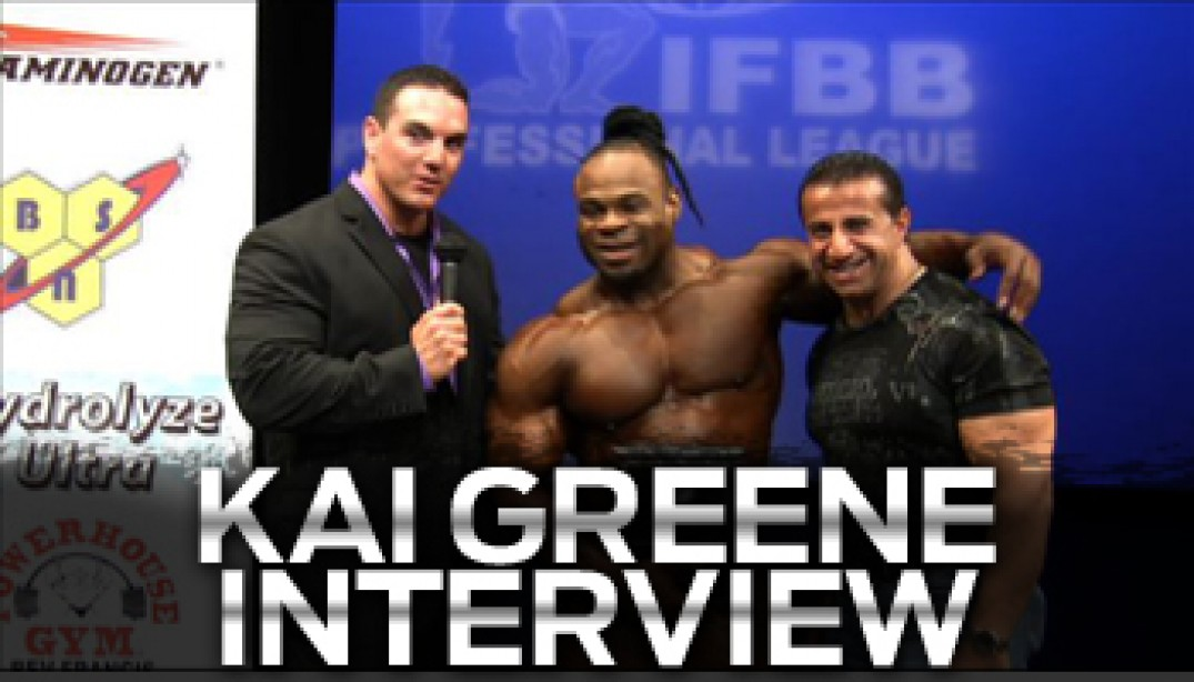 KAI GREENE WINS IN NY!