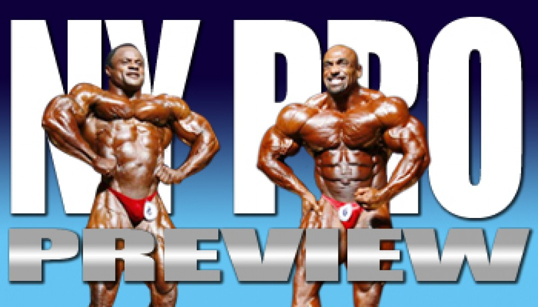 2009 IFBB NEW YORK PRO PREVIEW