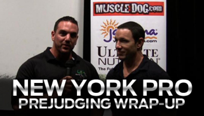 NY PRO PRE-JUDGING RECAP VIDEO