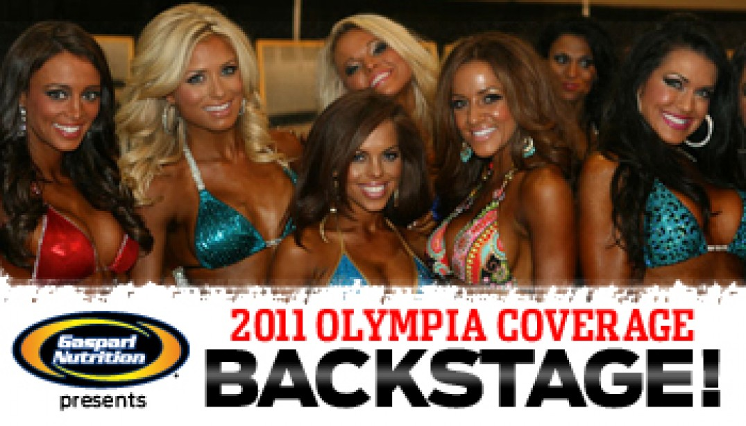 OLYMPIA BACKSTAGE VIDEO - THE LADIES