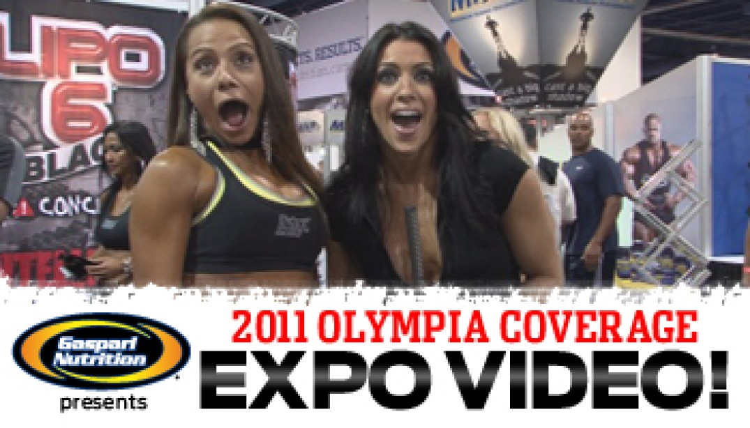 AMANDA UNLEASED AT THE OLYMPIA!