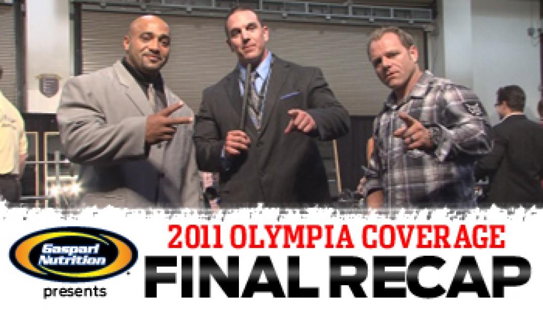 2011 OLYMPIA RECAP VIDEO
