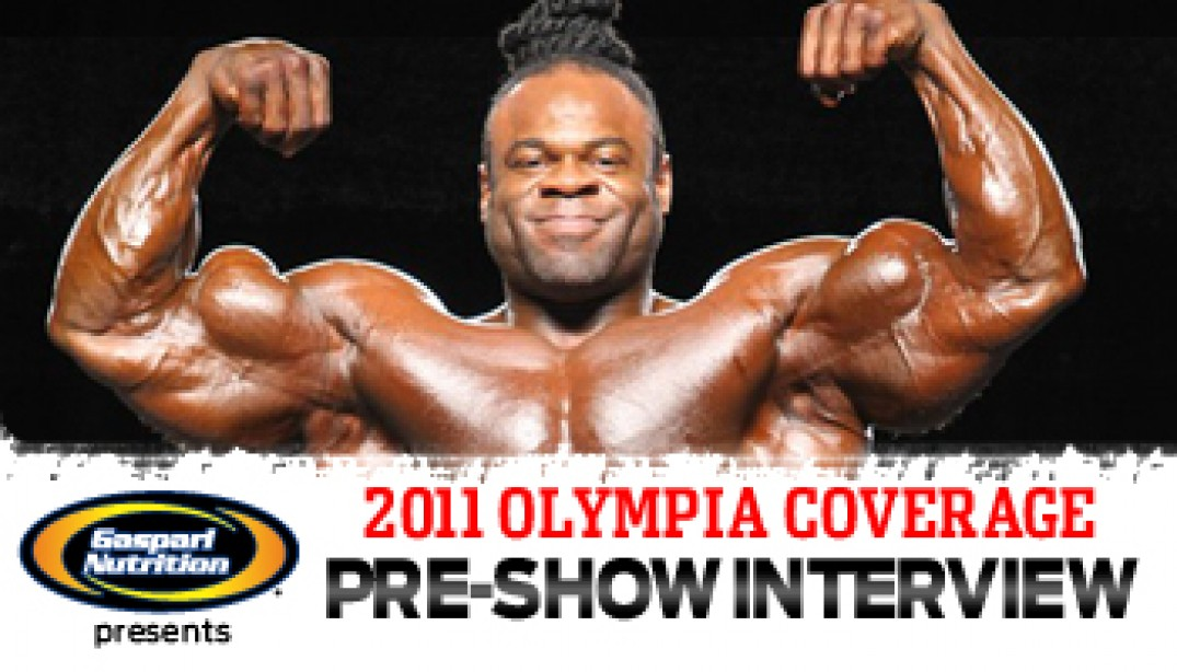 INTERVIEW WITH KAI GREENE