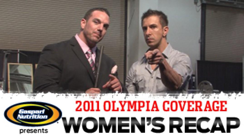 OLYMPIA WOMEN'S RECAP