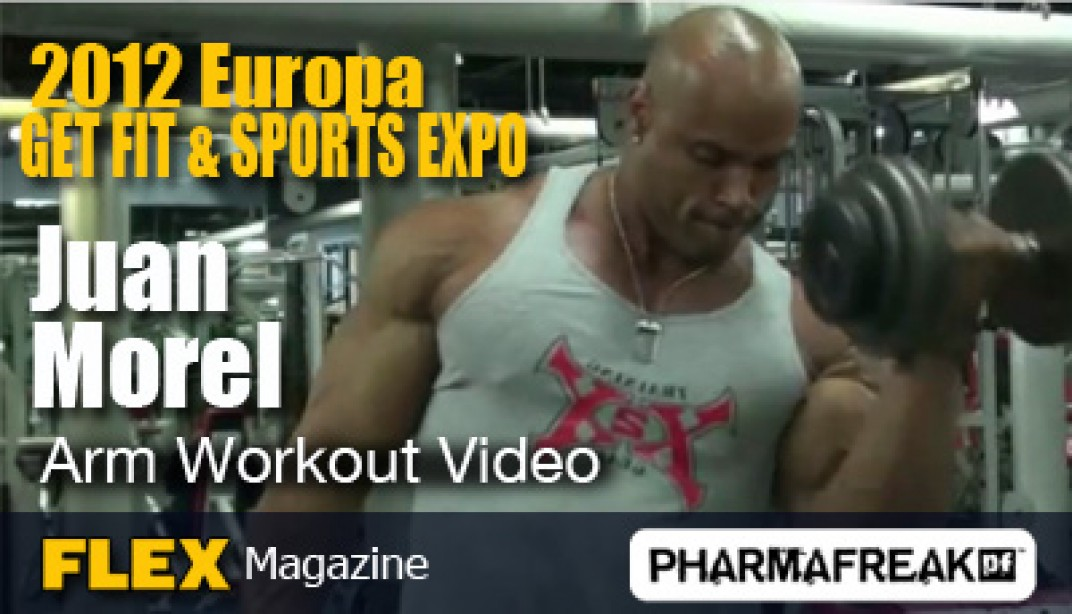 Juan Morel: 3 weeks Out from the Europa Hartford