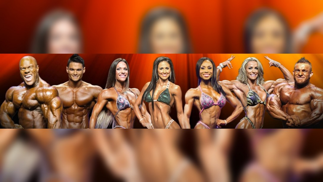 2016 Olympia Official Competitor Lists