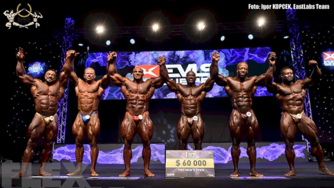 2015 IFBB EVLS Prague Pro Official Scorecards