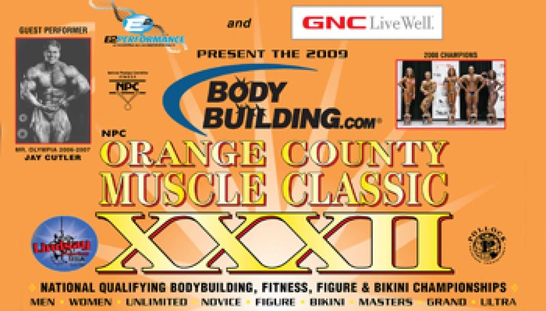 2009 NPC ORANGE COUNTY MUSCLE CLASSIC