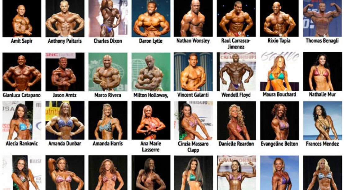 Europa Show of Champions Competitor List