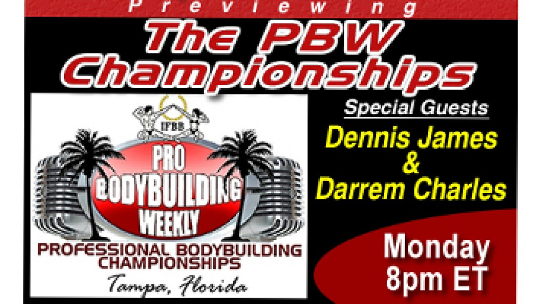 PBW PREVIEWS THE PBW CHAMPIONSHIPS