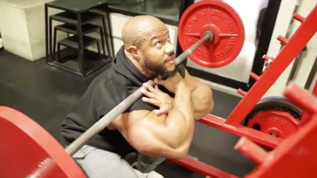 Phil Heath Shares His Go-to Front Squat Technique