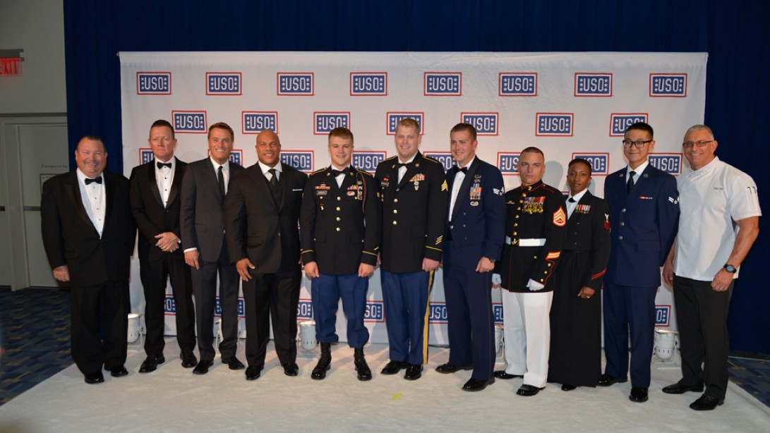 Phil Heath at the Annual USO Gala