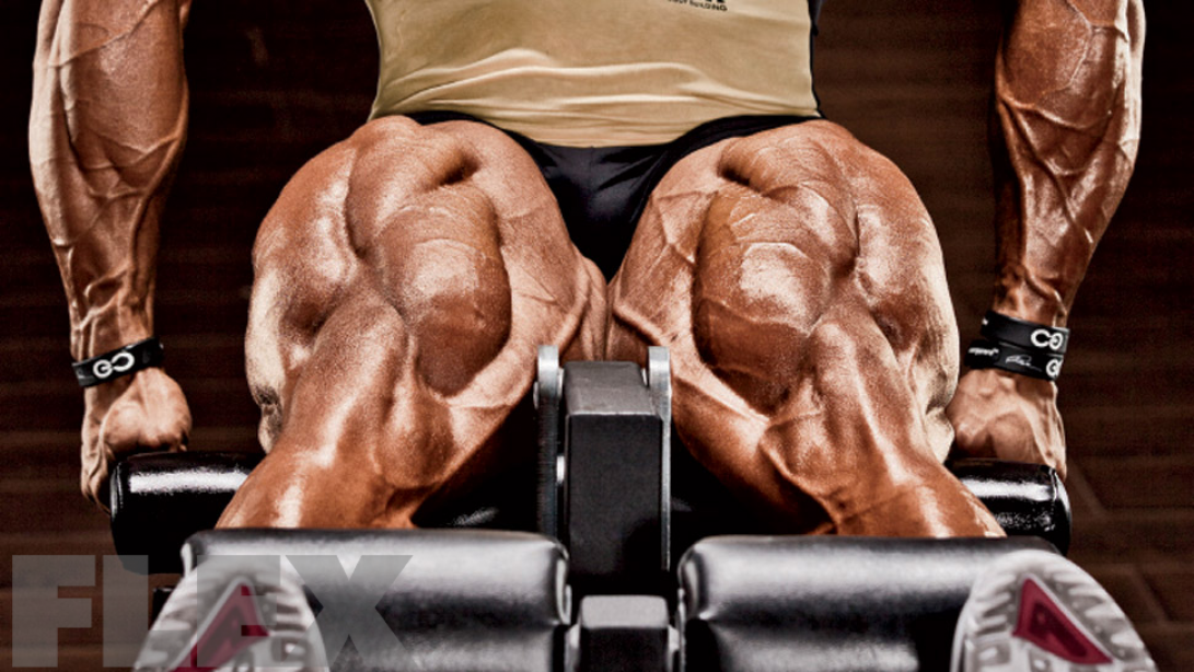 Phil Heath's Strategy for Building Big Legs