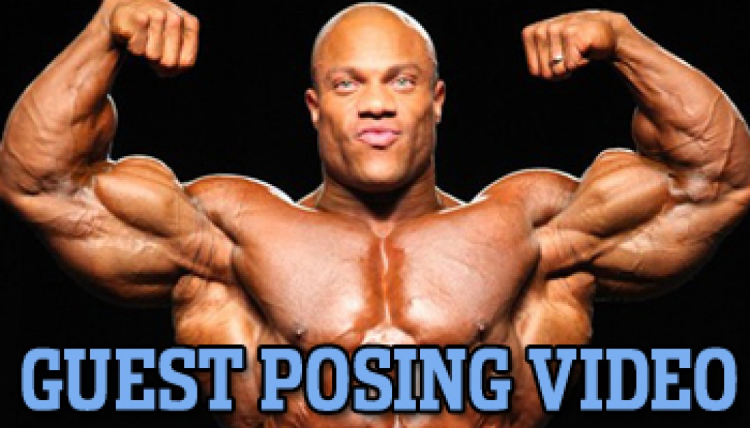PHIL HEATH GUEST POSING VIDEO!