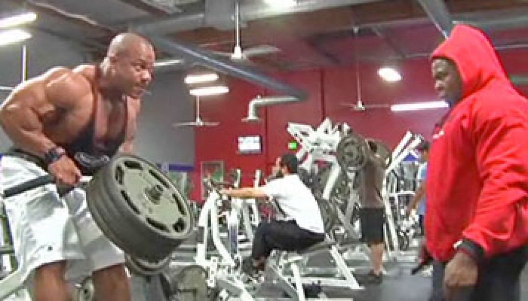 VIDEO: PHIL HEATH & KAI GREENE TRAIN!