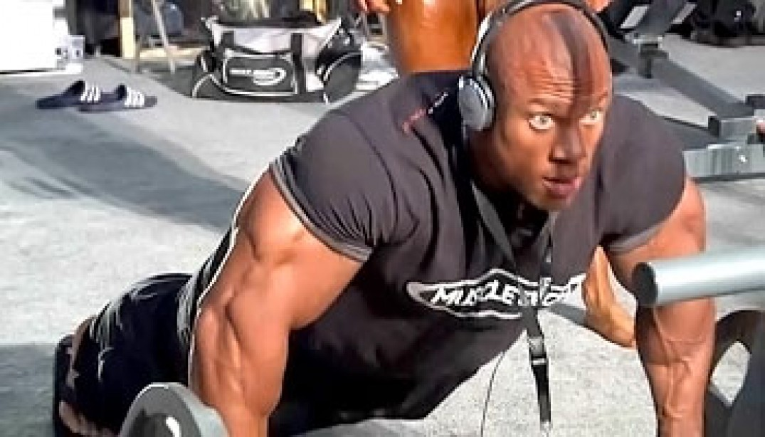 VIDEO: PHIL HEATH OLYMPIA ENTRANCE