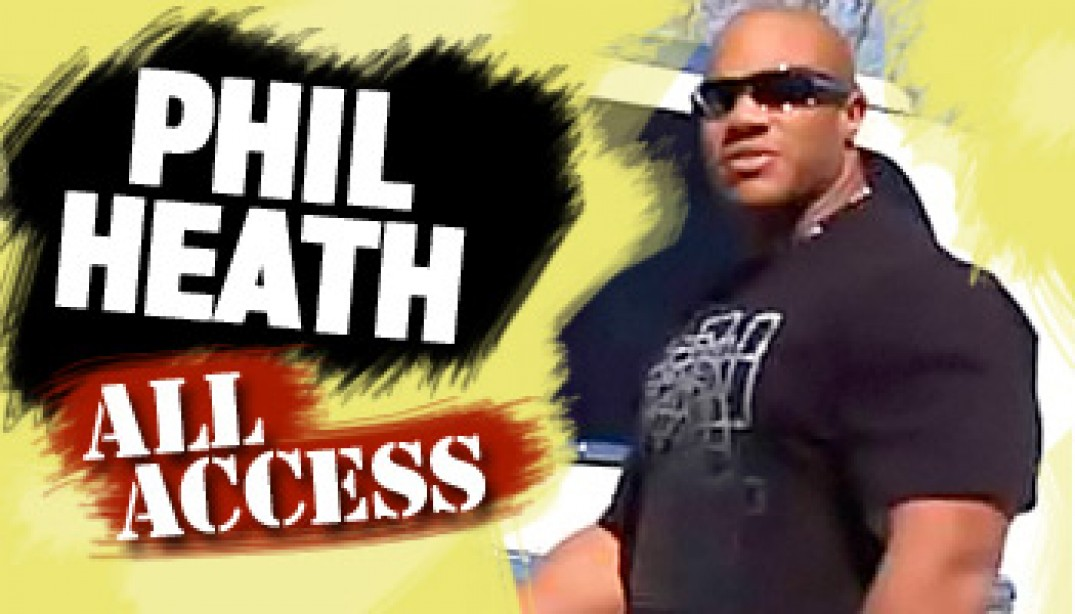 VIDEO: PHIL HEATH ALL ACCESS