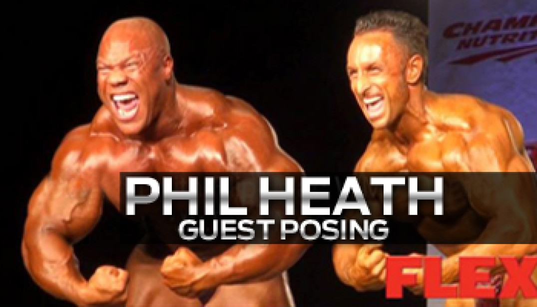 PHIL HEATH GUEST POSING & INTERVIEW!