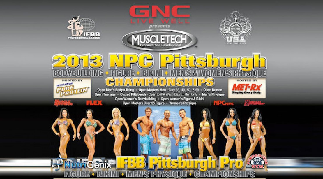 2013 Pittsburgh Pro Contest Info & Poster
