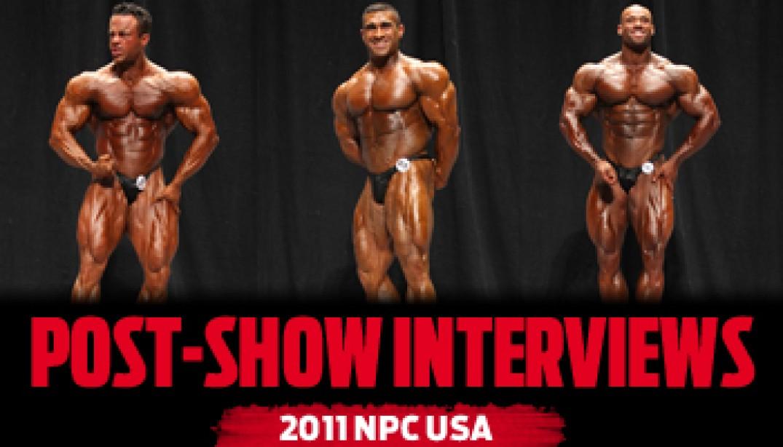 USA POST-SHOW INTERVIEWS!