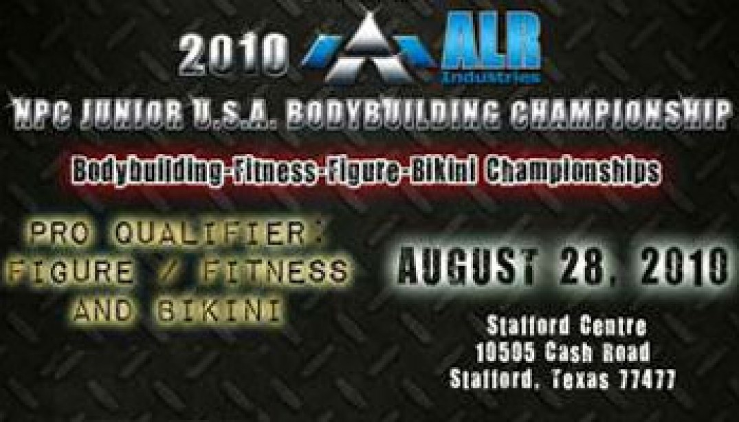 PREVIEW: 2010 NPC JUNIOR USA'S