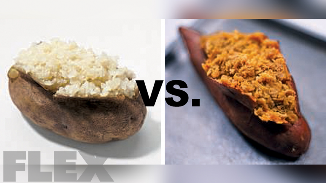 White Potatoes vs. Sweet Potatoes for Bodybuilders