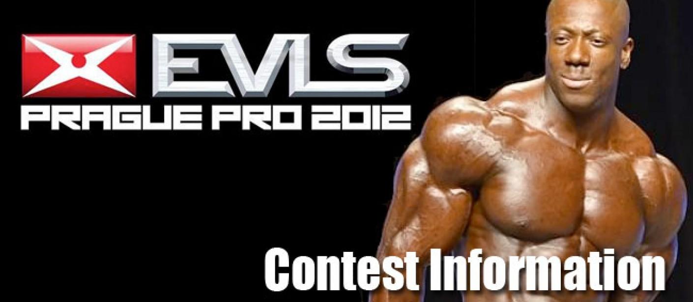 EVL Prage 2012 Pro Contest Information