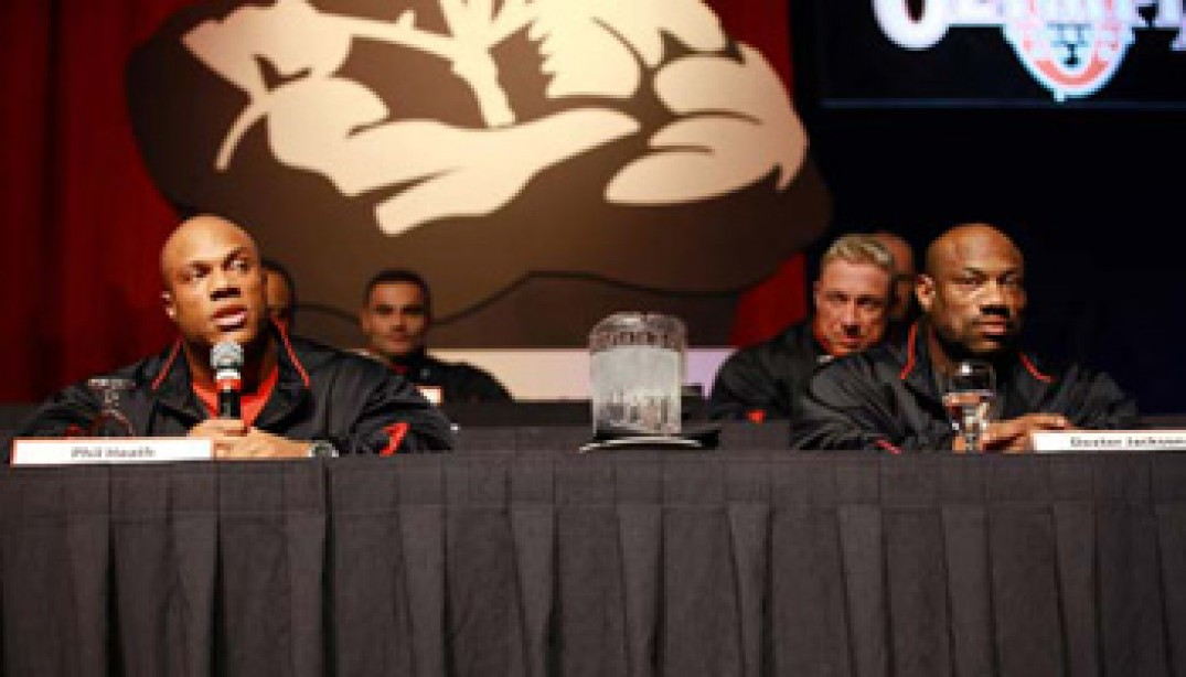 2009 MR. OLYMPIA PRESS CONFERENCE VIDEO