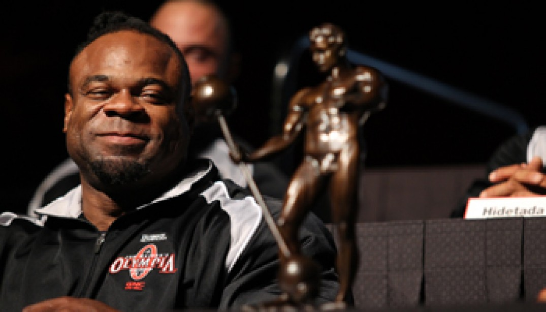 2011 OLYMPIA: PRESS CONFERENCE