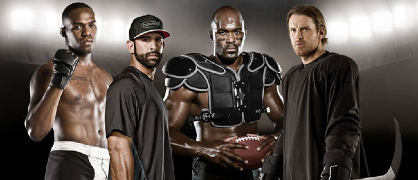 MuscleTech® Signs Mario Williams, José Bautista and Brad Richard