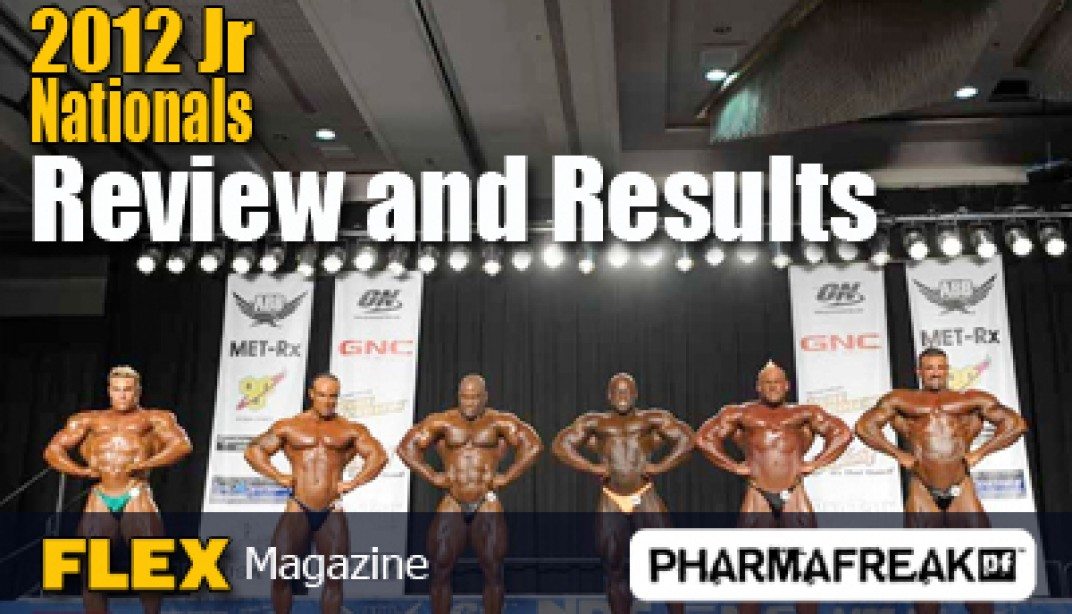 Review and Results from the 2012 NPC Jr Nationals